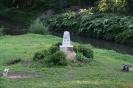 Obelisk gdzie graniczyły trzy zabory